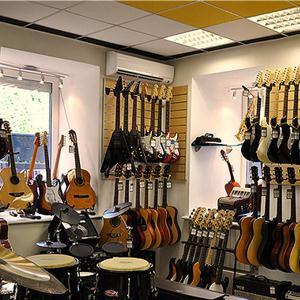 Музыкальные магазины Верхнебаканского